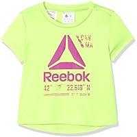 Reebok G ES Pol tee + Camiseta, niñas, Verde (Elefla), 5T