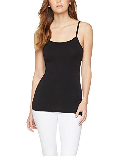 Iris & Lilly Camiseta Interior Térmica Ligera de Tirantes para Mujer, Pack...