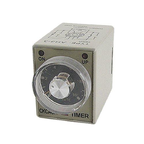 Preisvergleich Produktbild AH3-3 AC 220V Delay Timer Serie 0-10 Minuten 10Min Power On Time Delay Relay