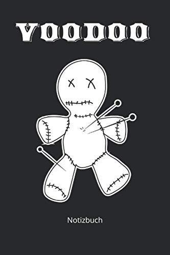 Notizbuch: Voodoo Puppe Notizbuch Vodun Hexerei (Liniertes Notizbuch mit 100 Seiten für Eintragungen aller Art)
