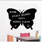 Papillon Ardoise Murale Art Sticker s Cuisine Sticker Mural Pour Enfants Chambre...