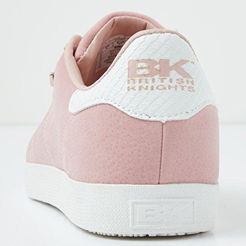 British Knights Point Donne Bassa Sneakers ROSA CHIARO/BIANCO