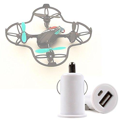 DURAGADGET Cargador De Mechero Del Coche Con Puerto USB Para Dron EACHINE...