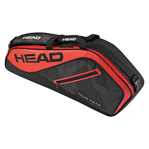 Tennistasche Head Tour Team 3r Pro, unisex, Tour Team 3R Pro, schwarz / rot