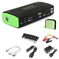 [50000mAh] Multi-functional Auto Car Jump Starter Emergency Power Bank Charger