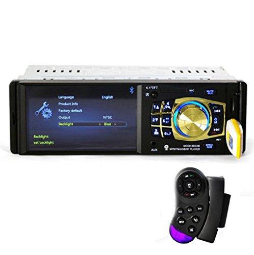 Sannysis Bluetooth auto adio, Manos libres Radio FM Receptor USB MP3