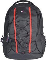 Tommy Hilfiger Alpine 22 Ltrs Black Laptop Backpack (TH/BIKOL01ALP)