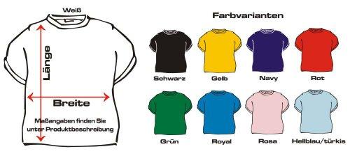 Langarm T-Shirt mit Druck MICH KANN MAN NICHT KÜNDIGEN... / wahlweise in Gr. S,M,L,XL,XXL und in 5 Farben Blau