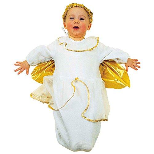 Widmann 3594A Kinderkostüm Engel, Kostüm und Kopfbedeckung