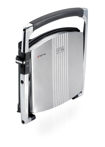 Breville VST026 Four Slice Sandwich Press Stainless Steel - Silver