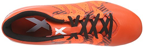 adidas Performance X15.4 Fxg Herren Fußballschuhe Rot (Bold Orange/Ftwr White/Solar Orange)