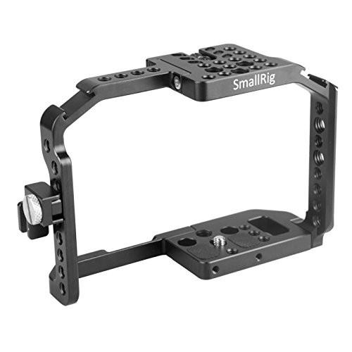 SMALLRIG G7 Cage mit Integriertem Cold Shoe und NATO Rail für Panasonic Lumix DMC-G7-1779