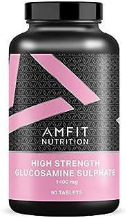Marchio Amazon - Amfit Nutrition, Glucosamina Solfato, 1400 mg, 90 compresse