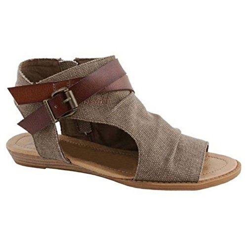 Hibote Frauen Sommer Flache Plattform Keil Sandalen Schuhe Tempting Roma Sandalen Urlaub Strand Flip Flop Sandalen