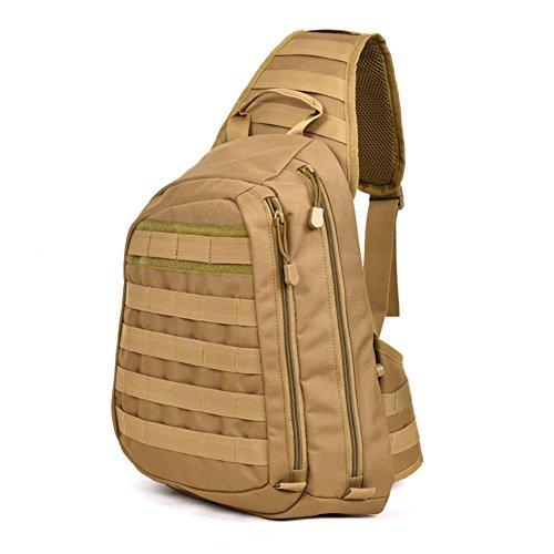 Herren Outdoor-Chest Pack/Ride Sport Tasche Schultertasche/Wander Rucksack A