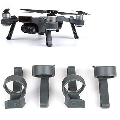 Flycoo Landing Gear for DJI Spark Drone - 3CM Heightened leg Extender Anti-scratch Shock-proof Landing kits accessories