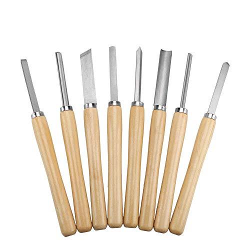 8/Set Holzmeißel-Set Profi Qualität-Drechslerbeitel, für Holz arbeiten