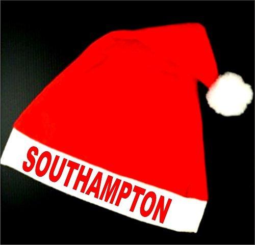 Southampton F.C. Fußballverein Santa Weihnachtsmann Weihnachtsfest Hut - spaß! Mit Glocke