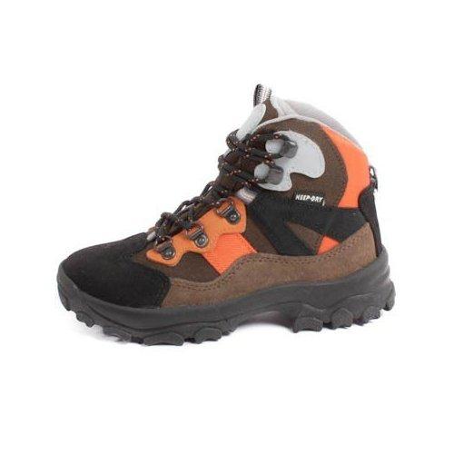 Cox 186933 Wanderschuh Kinder grau/orange/oliv, Schuhgrößen Kinder:EUR 33