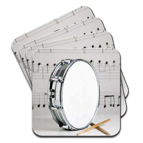 snare-drum-drumsticks-sheet-music-set-of-4-coasters