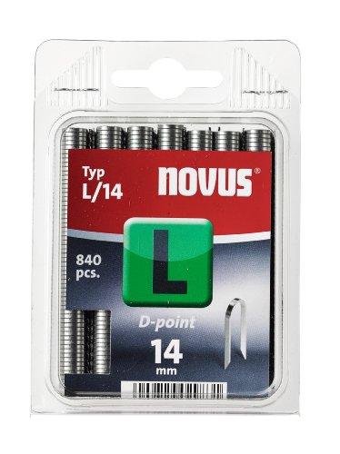 Novus C 4042–0727Agrafes 14mm Lot de 840