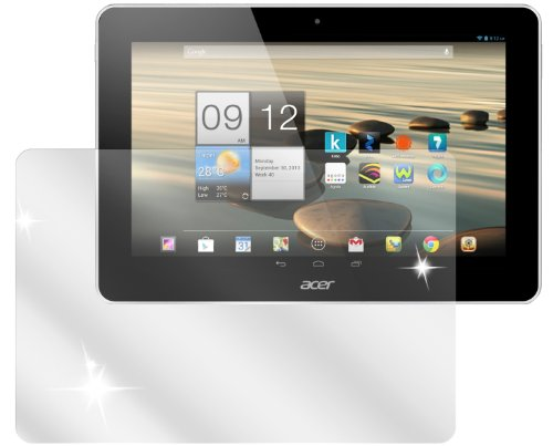 dipos I 3x Schutzfolie klar passend für Acer Iconia A3-A10 Folie Bildschirmschutzfolie