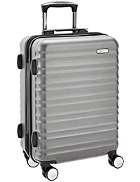 AmazonBasics - Cabina rígida equipaje de mano con ruedas giratorias, 55 cm homologada para Ryanair
