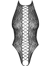 OBSESSIVE TEDDIES Damen Ropa Interior Erótica De Cuero Y Látex Para Mujer Sexo Y Sensualidad Adulto Unisex Shapewear Ganzkörper-Body Not Applicable, Multicolor, S/M