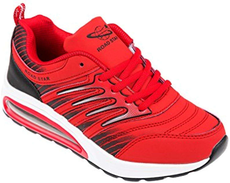 GIBRA Sportschuhe sehr leicht und bequem rot Gr. 36-41