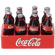 Kofun Bandeja de Botellas, RC Crawler 1:10 Mini Juguetes y Modelo de Bandeja de Coque para Tamiya CC01 Axial SCX10 Cumpleaños Ideal de Navidad Bandeja de ...