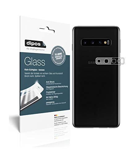 dipos I 6X Pellicola Protettiva per Samsung Galaxy S10 Obiettivo della Fotocamera Protezione Vetro Flessibile 9H
