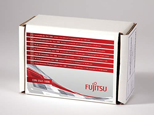 FUJITSU Includes 1x Pick Roller and 1x Separation Roller Estimated Life Up to 100K scans