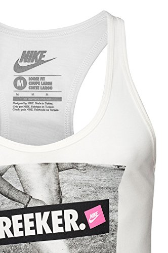 Nike, Canotta Donna Loose Free Bianco - bianco