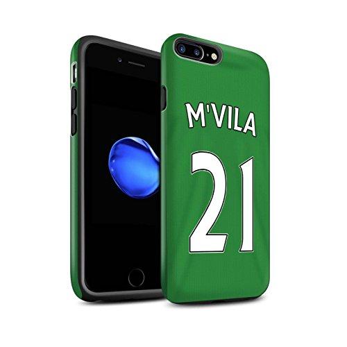 Offiziell Sunderland AFC Hülle / Matte Harten Stoßfest Case für Apple iPhone 7 Plus / Khazri Muster / SAFC Trikot Away 15/16 Kollektion M'Vila