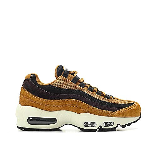 Nike Air Max 95 LX Womens Running Trainers AA1103 Sneakers Shoes (UK 5 US 7.5 EU 38.5, Cider Black sail 200)