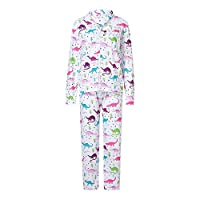 Sleepwear Women Women Family Long Sleeve Dinosaur Print Tops+Pants 2-Piece Pajama Outfits Set