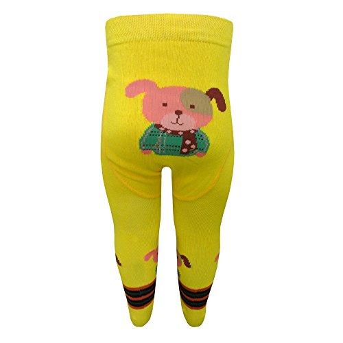 riese-strumpfe-bebe-collants-motif-garcon-de-chien-jaune-80-86gelb