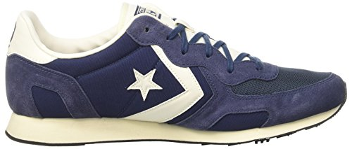 Uomo Conversare Naturale navy Sneaker Bue Blu Racer Navy Auckland wqHI4I