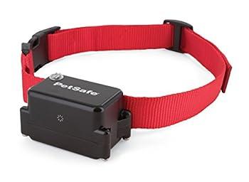 PetSafe - Collier Anti-Fugue Additionnel à Pile pour Chien, Imperméable, avec 4 niveaux de Stimulation et Bip Sonore/Vibration d'Avertissement - Compatible Clôture Anti-Fugue avec Fil PetSafe