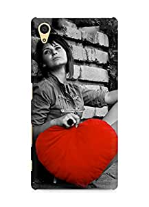 Amez designer printed 3d premium high quality back case cover for Sony Xperia Z5 (Love Is Big)