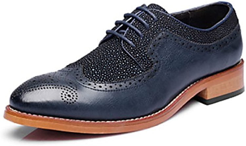 Zapatos Para Hombres Oficina Carrera Fiesta Noche Casual Cuero Oxfords  -