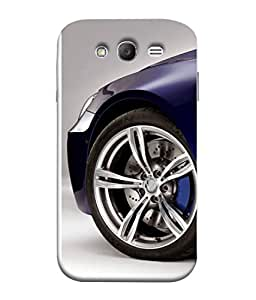 Fuson Designer Back Case Cover for Samsung Galaxy Grand Neo I9060 :: Samsung Galaxy Grand Lite (Wheels Porsche Turbo Engine Light)