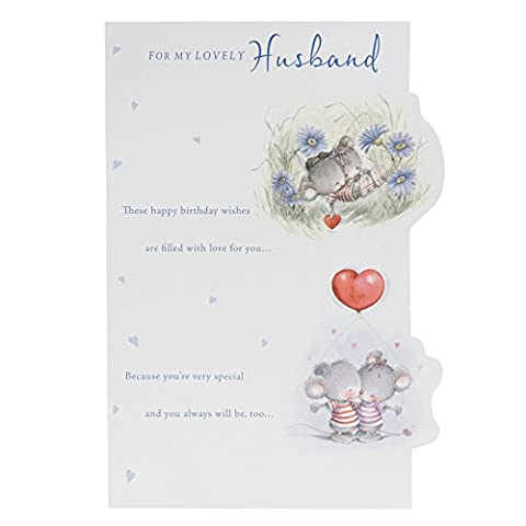 Hallmark Geburtstagskarte für Ehemann