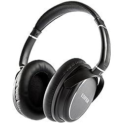 Edifier H850 Casque Filaire Pro sur-Oreille - Professionnel Audiophile - Léger, Confortable - Taille Unique avec Bandeu Réglable - Noir