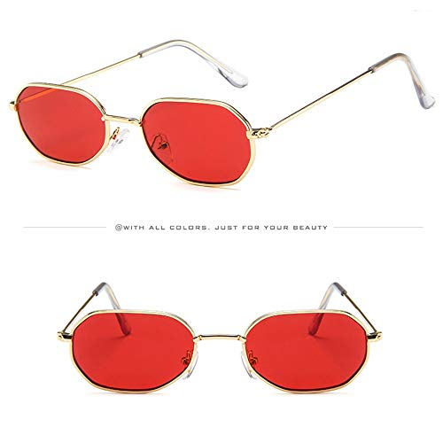 WUDUBE_Sonnenbrille im Retro-Stil, Unisex-ovale Brille, winddichter ()