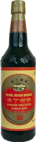 Pearl River Bridge Vinegar Sweetened, Tian Mie Su, Würzmittel aus gesüßtem Reisessig 500ml