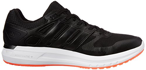 adidas  Duramo Elite M, Sneakers Basses homme Noir - Core Black/Ftwr White/Solar Red