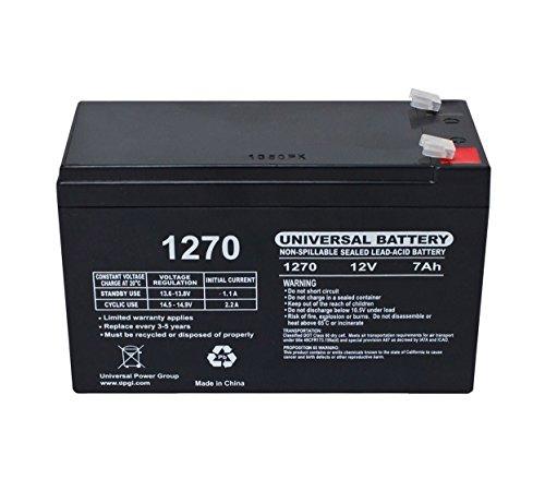 MEDIAWAVE Store Batteria al piombo 7Ah per auto elettriche e scooter codice 12N7AH 12v