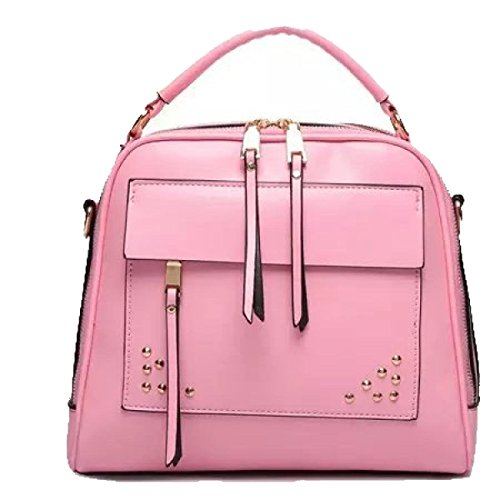 Sacchetto Di Spalla Della Retro Borsa Ms. Messenger Bag Pink