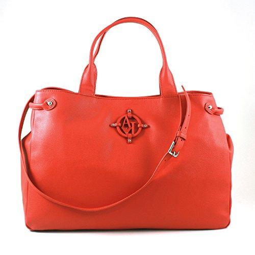 Armani Jeans Sac à Main Femme Rouge - rouge